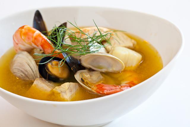 Французская кухня. Рыбный суп Буйабес Bouillabaisse